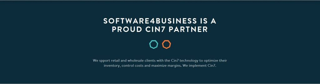 Software4Business is a proud Cin7 Business partner