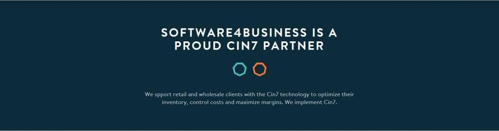 Software4Business is a proud Cin7 Business partner