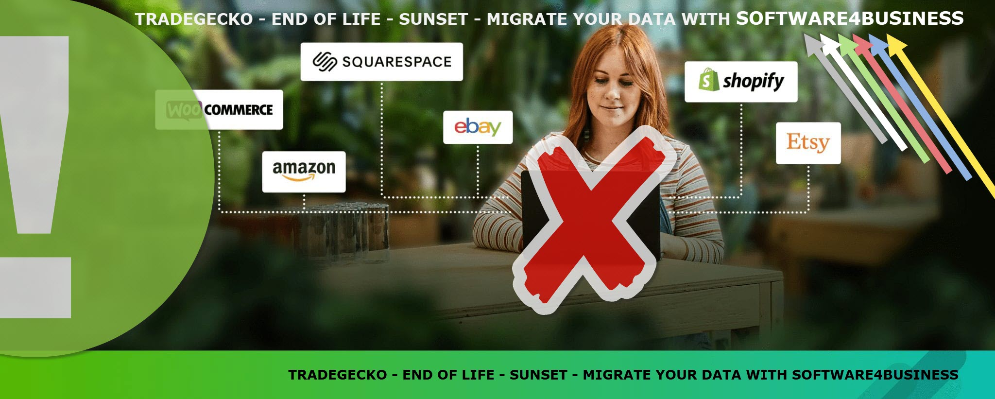TRADEGECKO - END OF LIFE - SUNSET - MIGRATE YOUR DATA WITH SOFTWARE4BUSINESS